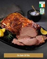 Irish Butterflied Lamb Shoulder