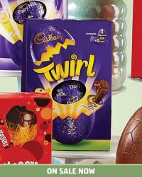 Cadbury Twirl Egg