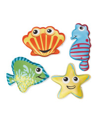 Crane Diving Sea Creatures 4 Pack