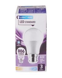 LED Lightbulb 10W A60 BC