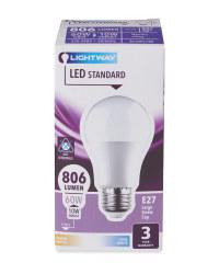 LED Lightbulb 10W A60 ES