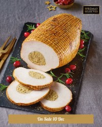 Luxury Cooked Turkey Boned & Rolled