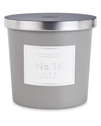 Oud And Bergamot Matte Candle