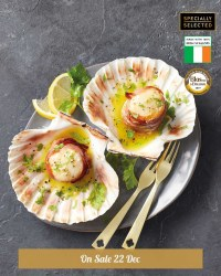 Scallops with Whiskey Butter