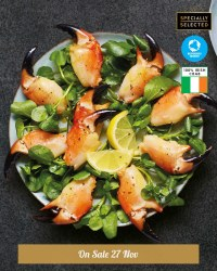 Specially Selected Irish Crab Claws