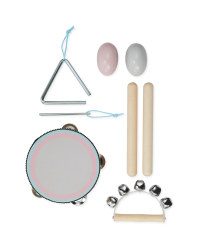 Wooden Tambourine Percussion Set