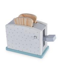 Wooden Toaster Set