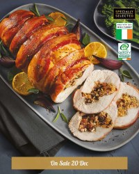 Turkey Crown With Streaky Bacon