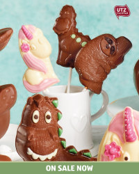 Easter Single Chocolate Lollies