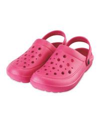 Summer Clogs Pink
