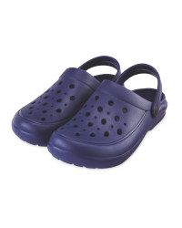 Summer Clogs Dark Blue