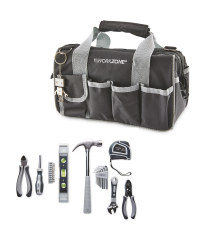 Workzone 25 Piece Tool Set