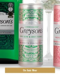 Ready-To-Drink Diet Gin & Tonic Can