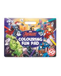 Marvel Avengers Colouring Pad