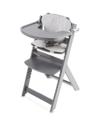 Mamia Grey Wooden Highchair