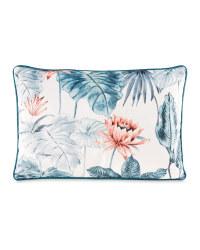 Floral Rectangular Cushion