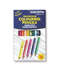 Supreme 12 Pack Colouring Pencils