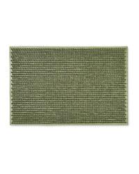 Gardenline Green Rubber Door Mat