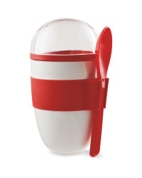 Kitchen Accessory Red Yoghurt To Go