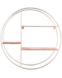 Copper Round Wire Shelf 53cm