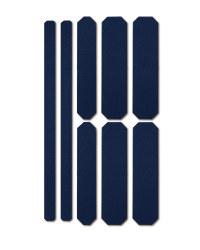 Blue Stick-On Reflective Strips