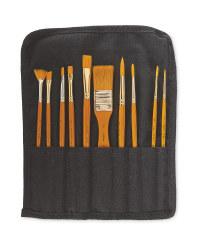 Simply Acrylic Paint Brushes Set
