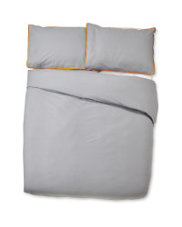 Plain Non-Iron Double Duvet Set