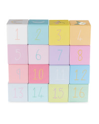 123 Wooden Picture Blocks
