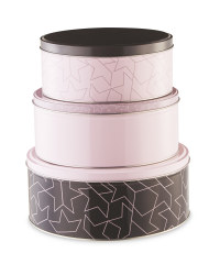 Nested Star Storage Tins 3 Pack