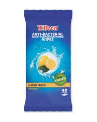 Killeen Antibacterial Wipes 40 Pack