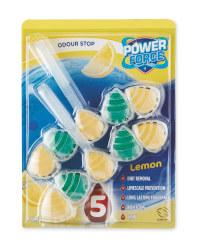 Power 5 Lemon Toilet Freshener