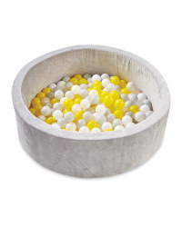 Nuby Grey/Yellow Ball Pit