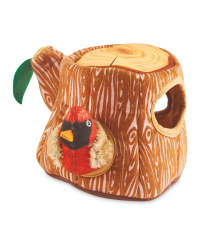 Owl Tree Hide And Seek Dog Toy