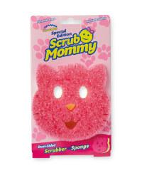Scrub Mummy Cat Sponge