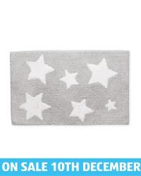 Kirkton House Stars Bath Mat