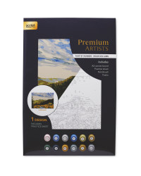 Mountain Cabin Paint By Numbers Set