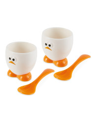 Egg Cup And Spoon Set