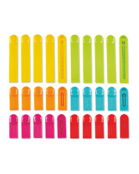 Assorted Kitchen Clips 30 Pack