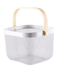 Grey Kitchen Storage Basket
