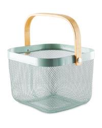 Sage Kitchen Storage Basket