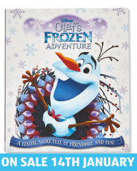 Frozen Olaf Picture Flat Book