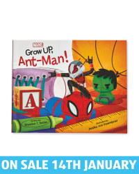 Grow Up Ant-Man Picture Flat Book