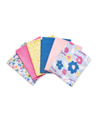 Floral Fabric Fat Quarters 6 Pack