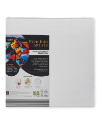 Square Stretch Canvas 3 Pack