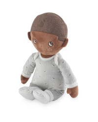 Doll with Grey Romper
