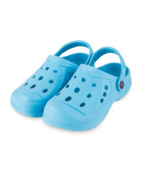 Kids' Summer Clogs Turquoise