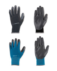 Gardening Gloves Black/Blue