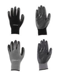 Gardening Gloves Black/Grey