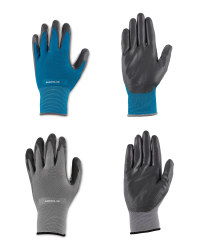 Gardening Gloves Grey/Blue