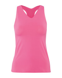 Crane Ladies' Pink Performance Top